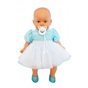 My Brittany'S Blue Easter Dress For Bitty Baby And Twins Dolls- 15 Doll Clothes