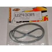 Schumacher U2433 Old Mission Grey Ultraflex front belt