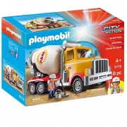 Camion Cementero Playmobil City Action C/ Accesorios - 9116