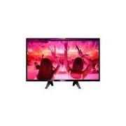 Smart TV 43 LED Full HD 3 HDMI 2 USB Preto Philips Bivolt 43PFG5102