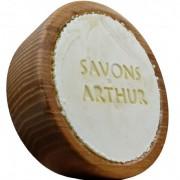 Savons arthur Savon à barbe Bio et son bol en bois d'acacia : Conditionnement - 100 g