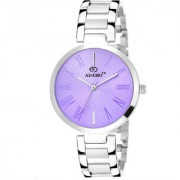 Adamo Enchant Analog Purple Dial Women's Watch - 2480sm03
