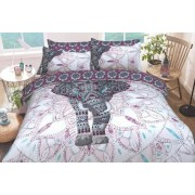 Sadaqat Global Limited T/A Five Minutes More £11.99 for a single elephant mandala duvet cover set, £15.99 for a double bedding set, £17.99 for a king size bedding set or £19.99 for a super king size set from Five Minutes More!