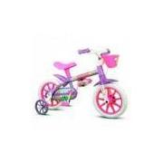 Bicicleta Infantil Menina ARO 12 Violet 2 Nathor
