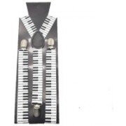 One Point Collections X- Back Suspenders for Men, Boys, Girls, Women(White, Black)