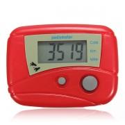 Krokomer na meranie krokov červený