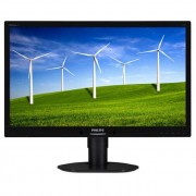 Philips monitor LED 241B4LPYCB, 24\ Full HD, DVI, 5ms, speakers, fekete