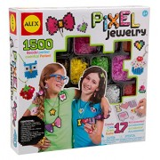 Alex Toys Do It Yourself Wear Pixel Jewelry Activity Kit with Materials for Accessories, Multi Color