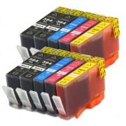 (10-pack) HP 364 XL multipack - kompatibilné náplne do tlačiarne HP