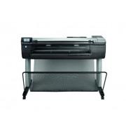 HP DesignJet T830 24 stampante multifunzione colore ink-jet fino a 0.42 min pagina 1 ritolo Gigabit LAN, Wi-Fi