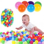 S&M TREADE-50pcs Kids Baby Colorful Soft Play Balls Toy for Ball Pit Swim Pit Ball Pool CT6