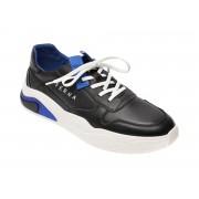 Pantofi BITE THE BULLET negri, HL, din piele naturala