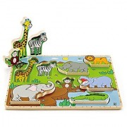 Hape - Wild Animals Stand Up Wooden Puzzle