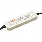 Mean Well LPF-40-12 40W IP67 Vin: 90-305V AC/127-431V DC, Vout: 12V DC, PFC szűrővel