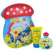 The Smurfs Clumsy lote de regalo I. eau de toilette 50 ml + espuma de baño 75 ml