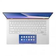 """ASUS Zenbook UX434FLC-A5281T Intel i7-10510U 14"""" FHD matný MX250/2GB 16GB 1TB SSD WL BT Cam W10 strieborný, ScreenPad"""