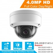 Hikvision CCTV Camera DS-2CD1141-I 4MP CMOS Night Version Dome IP Camera Replace DS-2CD2145F-IS DS-2CD3145F-I DS-2CD3145F-IS