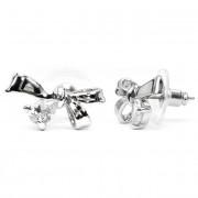 Breanna Swarovski kristályos masni alakú fülbevaló