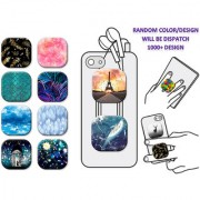 Pop Socket Square Silicone Sticker Ring Holder Colorful Vintage Pattern Air Sac Phone Holder POP Stand Grip Mount Buy 1 Get 1 Free For Nokia 105 Dual SIM (2015)