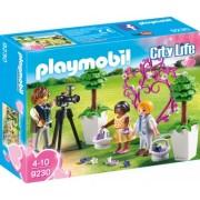 PlayMobil 4Ani+ COPII CU FLORI SI FOTOGRAF