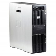 HP Z600 2 x Intel Xeon E5540 2.53 GHz, 8 GB DDR 3 ECC, 500 GB HDD, DVD-ROM, 256 MB Radeon HD3450, Tower, Windows 10 Pro