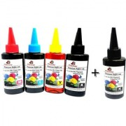 Odyssey Universal Premium Quality for use in HP/ Canon/ Brother/ Samsung Inkjet Printers 100 ML each x 4 CMYK Bottles Mu