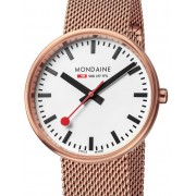 Ceas de dama Mondaine A763.30362.22SBM SBB Mini rosé 35mm 3ATM