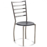 Fabsy Interior - Stainless Steel Chair In Black By Fabsy Interiors (Set Of 4 Pcs.)