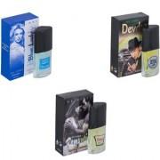 Skyedventures Set of 3 Blue Lady-Devdas-Romantic Perfume