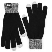 Myprotein Knitted Gloves – Black - S/M - Black