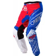 Oneal O´Neal Element Burnout Pantalón Blanco Rojo Azul 30
