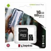 Kingston CANVAS SELECT PLUS MICROSDHC 16GB CLASS10 UHS-I A1 100MB/S