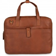 Burkely Laptoptas Burkely Leren Laptoptas 14 inch Fundamentals Vintage Noa Little Worker Cognac
