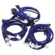 Kit cabluri modulare Super Flower Black/Blue
