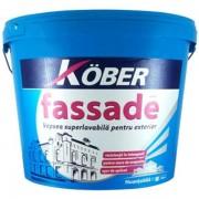 Vopsea super lavabila, Kober Zertifikat, Exterior, Fassade, 15L/24kg