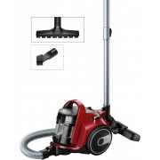 Aspirator fara sac GS05 Cleann'n Bosch, 1.50l, 700W, Negru, Roşu chilli,bgc05aaa2