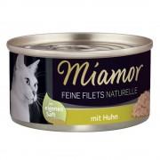 Miamor Fine Filets Naturelle 6 x 80 g Tonfisk & räkor