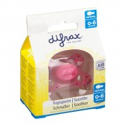 difrax® Schnuller - Natural 0-6 Monate
