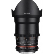 SAMYANG 35mm T1.5 VDSLR II Canon (para Vídeo)