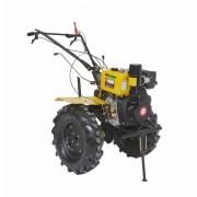 Motocultor Progarden HS 1100B, 9 CP, diesel, freze, roti cauciuc, plug reversibil, ulei motor, ulei transmisie, transmisie cardan, carcasa fonta