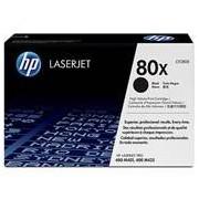 HP 80X LaserJet Tonerkassette - schwarz