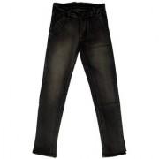 Globe Black Denim Jeans pattern solid material cotton