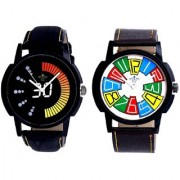Colourful Digits Up Down Round With Speed 30 Lightning Class SCK Combo Gallery Wrist Watch