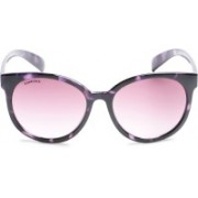 Fastrack Round Sunglasses(Violet)