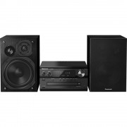 Stereo uređaj Panasonic SC-PMX84EG-K Bluetooth®, DAB+, CD, UKW, USB, High-Resolution Audio 2 x 60 W crne boje