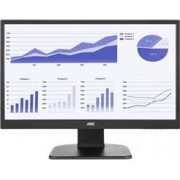 "Monitor 21,5"" LED AOC - 250 CD/M2 de Brilho - Altura e Rotacao - Vesa - DVI - HDMI - FULL HD - E2270"