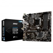 PLACA BASE MSI B360M PRO-VDH - INTEL SKT LGA1151 - PARA INTEL CORE 8TH GEN - CHIPSET B360 - 4XDDR4 - PCIE X16 - DVI-D/VGA/HDMI - MATX