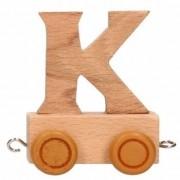 Merkloos Trein met de letter K