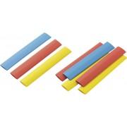 Set tuburi termocontractabile 2:1, 12.50 mm, multicolor, 9 buc., Conrad Components RPS9
