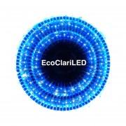Serie Navideña Led 200 Luces Color Blanco Y Azul Decoración Para Árbol De Navidad